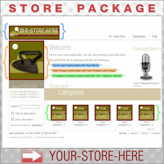Night Train Railroad with your ENHANCED PRODUCT IMAGE - Custom Y-S-H eCRATER Store Package