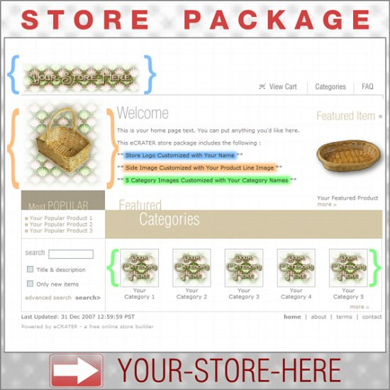Fancy Wallpaper with your ENHANCED PRODUCT IMAGE - Custom Y-S-H eCRATER Store Package