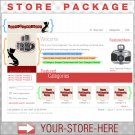 Retro Black Kitty with your ENHANCED PRODUCT IMAGE - Custom Y-S-H eCRATER Store Package