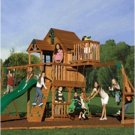 Skyfort Cedar Play Set with Slide
