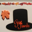 Giving Thanks Hat Greeting Card
