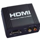 VGA Video Audio to HDMI Converter box