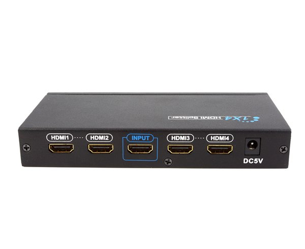1x4 HDMI Splitter, Full 1080p, 3D support