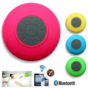 Wireless Bluetooth Speaker Shower Music Suction Phone Mic
