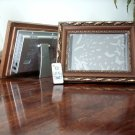 100 - 10.4 LCD Digital Photo Wood Gold Frame MP3, Video 1GB - with Remote