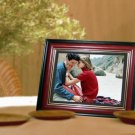 "1 - 10.4"" LCD Digital Photo Red Wood Frame - MP3 & Video - 1GB - with Remote"