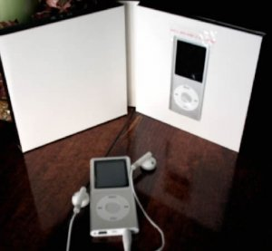 100 - 1.8 inch 2GB Ipod Nano Style MP3-MP4 Video Player with Voice record and FM Radio -Silver