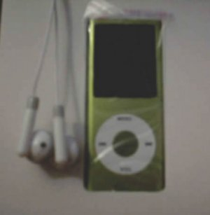 5 - 1.8 inch 4GB Ipod Nano Style MP3-MP4 Video Player with Voice recorder and FM Radio -Green