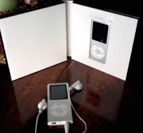 50 - 1.8 inch 4GB Ipod Nano Style MP3-MP4 Video Player with Voice recorder & FM Radio -Silver