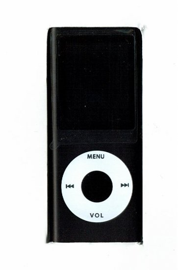 100 - 1.8 inch 4GB Ipod Nano Style MP3-MP4 Video Player with Voice record and FM Radio -Black