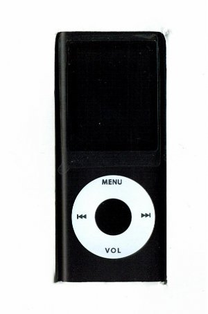 5 - 1.8 inch 2GB Ipod Nano Style MP3-MP4 Video Player with Voice recorder and FM Radio -Black