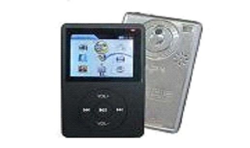 100 - 2.4 inch 2GB MP3-MP4 Video Player with SD/MMC card slot, FM Radio, & 1.3 MP Camera