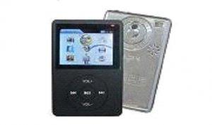 100 - 2.4 inch 2GB MP3-MP4 Video Player with SD/MMC card slot, FM Radio, & 1.3 MP Camera