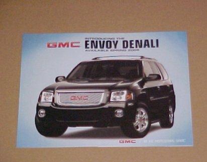2005 GMC Envoy Denali Limited Edition Brochure