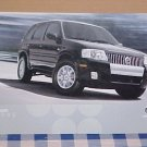 2005 Mercury Mariner Limited Edition Brochure