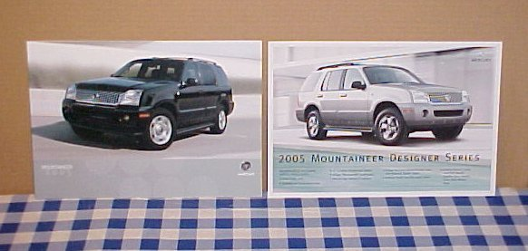 2005 Mercury Mountaineer Limited Edition Brochure Set