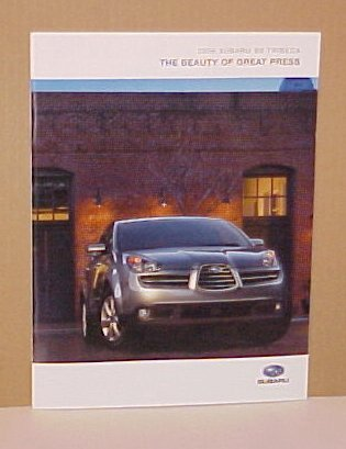 2006 Subaru B9 Tribeca Car & Driver Edition Brochure