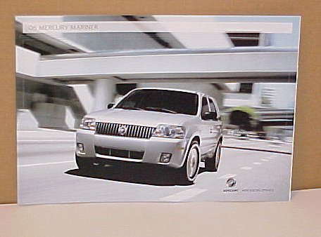 2006 Mercury Mariner SUV New Limited Edition Brochure