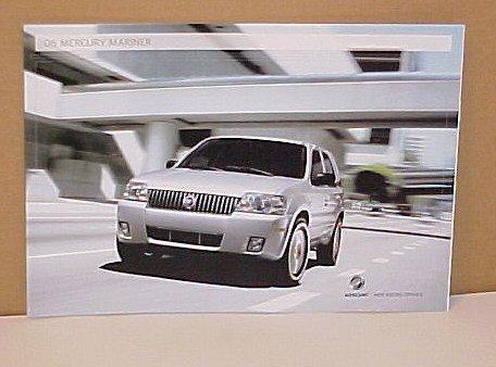 2006 Mercury Mariner SUV New Limited Edition Brochure