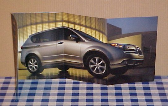 2006 Subaru B9 Tribeca SUV Limited Edition Brochure