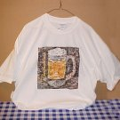 New Budweiser Beer Mona Lisa Extra Large Tee Shirt