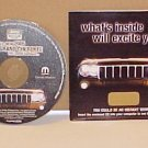 2005 Jeep Grand Cherokee Video Brochure & Music CD