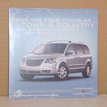 2008 Chrysler Town & Country Limited Edition CD Brochure
