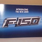 2009 Ford F150 Brand New Introductory Brochure