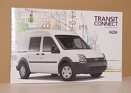 2009 Ford Transit Connect Van New Intro Brochure