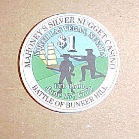 Mahoneys Silver Nugget Las Vegas Limited Edition Casino Chip