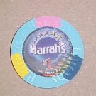 Harrahs Las Vegas Hotel Casino Poker Chip