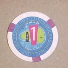 Las Vegas Club Hotel Casino Poker Chip