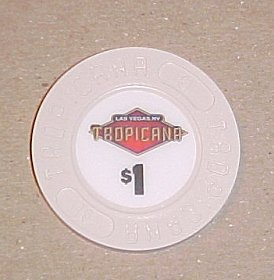 Tropicana Las Vegas Hotel Casino Poker Chip