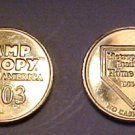 Mall Of America 2003 Camp Snoopy Coin
