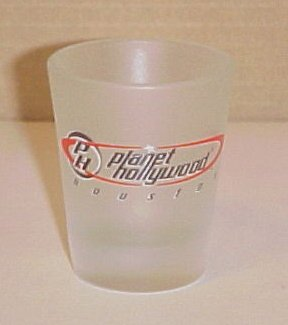 Planet Hollywood Houston Texas Shot Glass