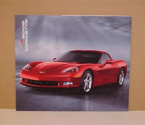 2005 Chevrolet Corvette Limited Edition Brochure