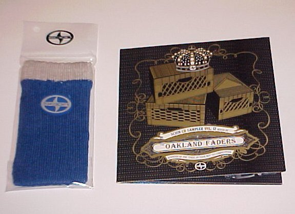 2006 Scion TC XA XB New Oakland Faders Music CD and Wrist Band