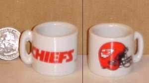 Kansas City Chiefs NFL Football Porcelain Coffee Mug