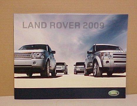 2009 Land Rover New Premier Full Line Brochure