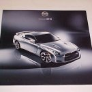 2009 New Nissan GT-R Super Car Sales Brochure