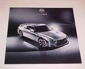 2009 New Nissan GT-R Super Car Sales Brochure