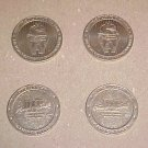 Fond Du Luth Minnesota Casino Retired $1 Token Set
