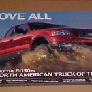2004 Ford F150 Motor Trend Truck of the Year Poster