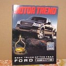 2004 Ford F150 Motor Trend Truck of The Year Brochure NOS