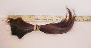 Natural Virgin Human Hair Dark Auburn Red Extension 33-9