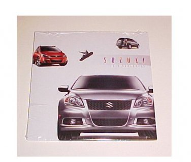 2011 Suzuki New Kizashi Sportback Vitara Equator Brochure CD Edition