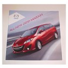 2012 Mazda 5 Mini Van New Sales Brochure