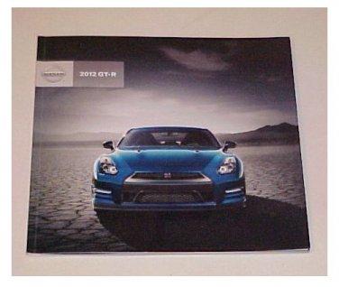 2012 Nissan GT-R Super Car New Sales Brochure
