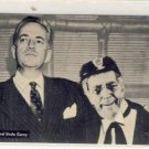 Tom Brennaman & Uncle Corny Radio Postcard VP-5795