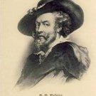 P.P. Rubens Vintage Greeting Postcard VP-3587